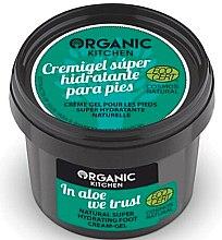 """Parfumuri și produse cosmetice Cremă-gel pentru picioare """"Aloe"""" - Organic Shop Organic Kitchen Foot Cream-Gel"""
