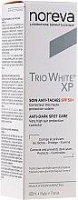 Parfumuri și produse cosmetice Cremă împotriva petelor de vârstă - Noreva Laboratoires Trio White XP Anti-Dark Spot Care SPF 50+