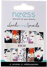 Parfumuri și produse cosmetice Abțibilduri pentru unghii, 3686, BN-253 - Neess