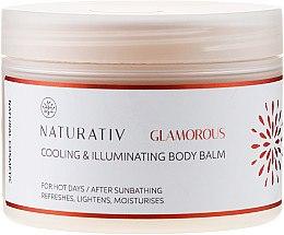 Parfumuri și produse cosmetice Balsam de corp - Naturativ Cooling & Illuminating Body Balm