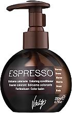 Parfumuri și produse cosmetice Balsam nuanțator pentru păr - Vitality's Art Espresso
