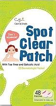 Parfumuri și produse cosmetice Plasture pentru tratarea acneei - Cettua Spot Clear Patch