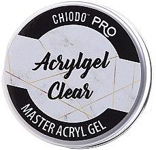 Parfumuri și produse cosmetice Gel pentru unghii - Chiodo Pro Acryl Gel Clear Gel