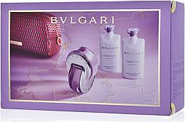 Parfumuri și produse cosmetice Bvlgari Omnia Amethyste - Set (edt/65ml + b/lot/2x75ml + pouch)