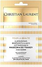 Parfumuri și produse cosmetice Mască cu efect de lifting pentru față - Christian Laurent Luxury Illuminating And Lifting 24K Gold Face Mask
