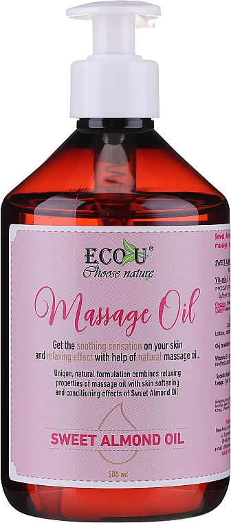 Ulei de masaj - Eco U Massage Oil Sweet Almond Oil