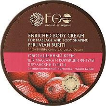 Parfumuri și produse cosmetice Crema bogată pentru masaj și modelarea corpului - ECO Laboratorie Natural & Organic