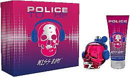Parfumuri și produse cosmetice Police To Be Miss Beat - Set (edp/75ml + b/lot/100ml)