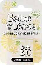 """Parfumuri și produse cosmetice Balsam de buze """"Vanilie"""" - Marilou Bio Certified Organic Lip Balm"""