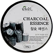 Parfumuri și produse cosmetice Gel calmant cu extract de cărbune - Ekel Charcoal Essence Soothing Gel