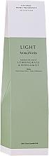 """Parfumuri și produse cosmetice Difuzor aromatic """"Lemongrass și Bergamotă"""" - AromaWorks Light Range Lemongrass & Bergamot Reed Diffuser"""
