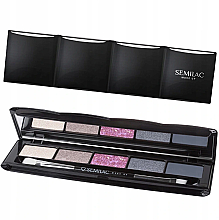 Parfumuri și produse cosmetice Paletă farduri de pleoape - Semilac Matte Eye shadow Pallet