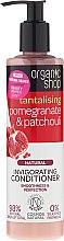 """Parfumuri și produse cosmetice Balsam de păr """"Rodie și patchouli"""" - Organic Shop Invigorating Conditioner"""