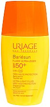 Parfumuri și produse cosmetice Fluid cu protecție solară pentru față - Uriage Bariesun Ultra-Light Fluid SPF50+