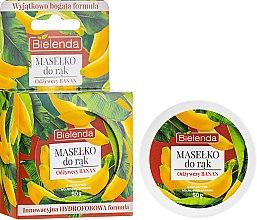 "Parfumuri și produse cosmetice Ulei de mâini ""Nutriție"" - Bielenda Hand Butter Nourishing Banana"