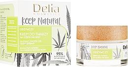 Parfumuri și produse cosmetice Cremă hidratantă de față - Delia Cosmetics Keep Natural Nourishing Cream