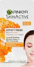 Parfumuri și produse cosmetice Mască regenerantă cu miere pentru față - Garnier SkinActive Honey Mask