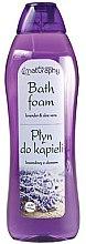 """Parfumuri și produse cosmetice Spumă de baie """"Lavandă și aloe"""" - Bluxcosmetics Naturaphy Lavender & Aloe Vera Bath Foam"""