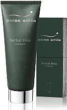 Parfumuri și produse cosmetice Pastă de dinți, regenerantă, pe bază de plante - Swiss Smile Herbal Bliss Toothpaste