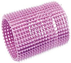 Parfumuri și produse cosmetice Bigudiuri din plastic, moi, 55 mm, violet deschis - Olivia Garden