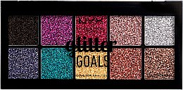 Parfumuri și produse cosmetice Paletă fard de ochi - NYX Professional Glitter Goals