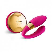 Parfumuri și produse cosmetice Vibro masajor pentru cupluri, roz - Lelo Tiani 24k Hot Cerise