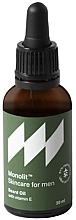 Parfumuri și produse cosmetice Ulei cu vitamina E pentru barbă - Monolit Skincare For Men Beard Oil With Vitamin E