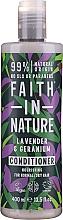 Parfumuri și produse cosmetice Balsam pentru păr normal și uscat - Faith in Nature Lavender & Geranium Conditioner