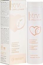 Parfumuri și produse cosmetice Șampon organic - Bema Cosmetici Bema Love Bio Frequent Wash Shampoo