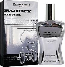 Parfumuri și produse cosmetice Jeanne Arthes Rocky Man Irridium - Apă de toaletă