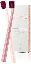 Parfumuri și produse cosmetice Set periuțe de dinți - Swiss Smile Nuance Nude Two Toothbrushes