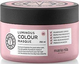 Parfumuri și produse cosmetice Mască pentru păr vopsit - Maria Nila Luminous Color Masque
