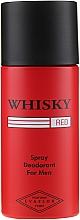 Parfumuri și produse cosmetice Evaflor Whisky Red For Men - Deodorant