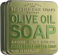 Parfumuri și produse cosmetice Săpun - Scottish Fine Soaps Olive Oil Soap In A Tin