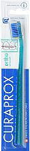 Parfumuri și produse cosmetice Periuță de dinți, turcoaz - Curaprox CS 5460 Ultra Soft Ortho