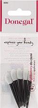 Parfumuri și produse cosmetice Burete-aplicatoare pentru farduri, 5bucăți, alb-negru - Donegal Eyeshadow Applicator