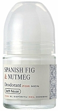 Parfumuri și produse cosmetice Bath House Spanish Fig and Nutmeg - Deodorant roll-on