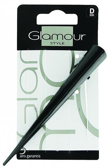 Agrafă de păr, neagră - Glamour Style — Imagine N1