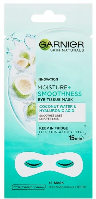 Mască pentru ochi - Garnier Skin Naturals Moisture+ Smoothness