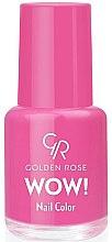 Parfumuri și produse cosmetice Lac de unghii - Golden Rose Wow Nail Color