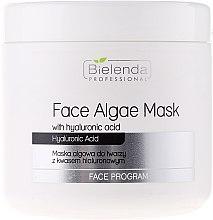 Parfumuri și produse cosmetice Mască de față alginat cu Acid hialuronic - Bielenda Professional Face Algae Mask with Hyaluronic Acid