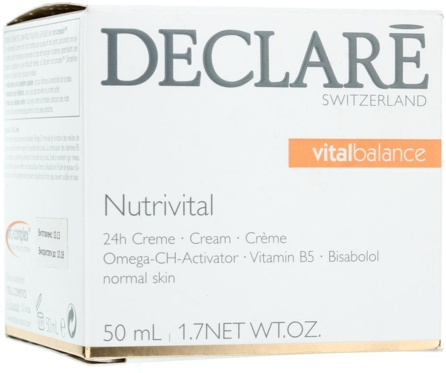 Cremă de față - Declare Nutrivital 24 h Cream — Imagine N1