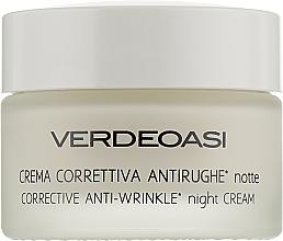 Parfumuri și produse cosmetice Cremă de noapte pentru corectarea ridurilor - Verdeoasi Anti-Wrinkles Night Cream Corrective