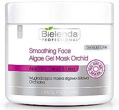 """Mască de gel de alginat """"Orhideea"""" - Bielenda Professional Program Face Smoothing Face Algae Gel Mask Orchid — Imagine N1"""