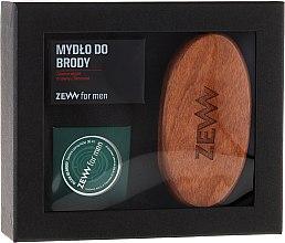 Parfumuri și produse cosmetice Set - Zew For Men Set (oil/30ml + soap/85ml + brush)