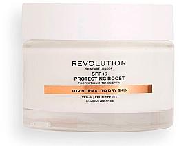 Parfumuri și produse cosmetice Cremă hidratantă pentru ten normal și uscat SPF15 - Revolution Skincare Moisturizing Cream SPF15