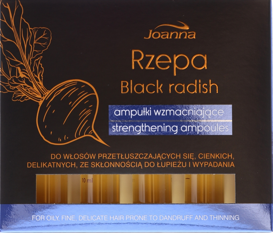 Fiole pentru păr - Joanna Turnip Description Strengthening Ampoules