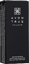 Parfumuri și produse cosmetice Fond de ten matifiant cu efect calmant - Avon Calming Effects