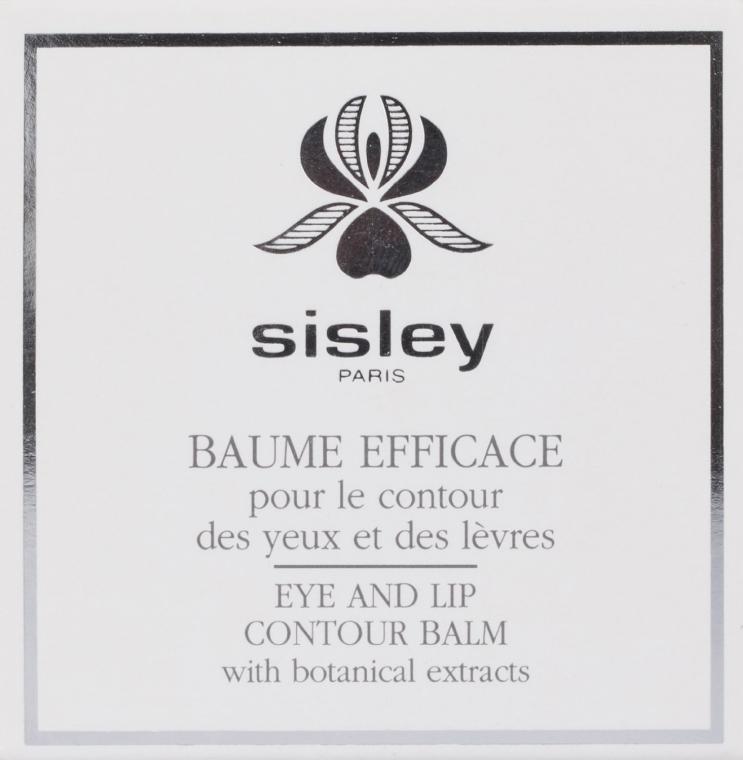 Balsam pentru conturul ochilor și buzelor - Sisley Baume Efficace Botanical Eye and Lip Contour Balm — Imagine N4