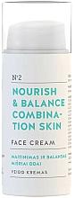 """Parfumuri și produse cosmetice Cremă de față """"Nutriție și echilibru"""" - You & Oil Nourish & Balance Combination Skin Face Cream"""